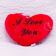 Plüssfigura - I love you szív